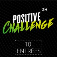 Carte 10 entrées Challenge 2H